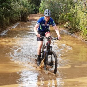 mountain biking in southern tasmania