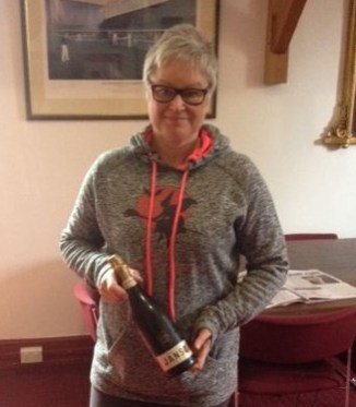 Sandra Gadsby - First Friday Drinks Winner