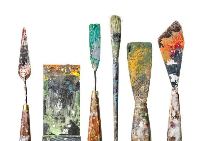 Die Spachteltechnik Fur Acrylmalerei Und Olmalerei Erklarung