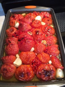 roasted tomatoes for soup