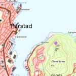Kart over Topptur til Gansåsen.