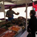 Sjømat - Markedet i Bayeux