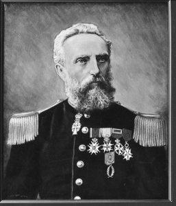 Lars M. Bing Broch (1879) Oslo Militære Samfunns portrettgalleri.
