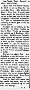 Ester - Politikken 15.6.1886