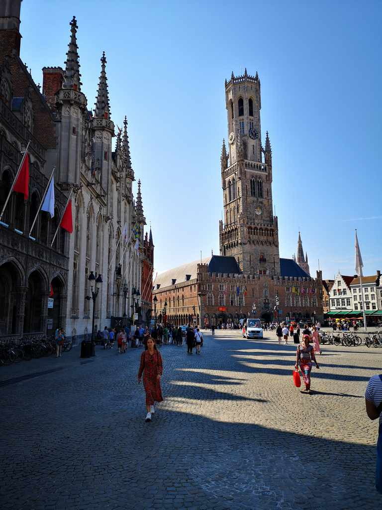 Belfry (Belfort) and Market Halls (Hallen) Brugge