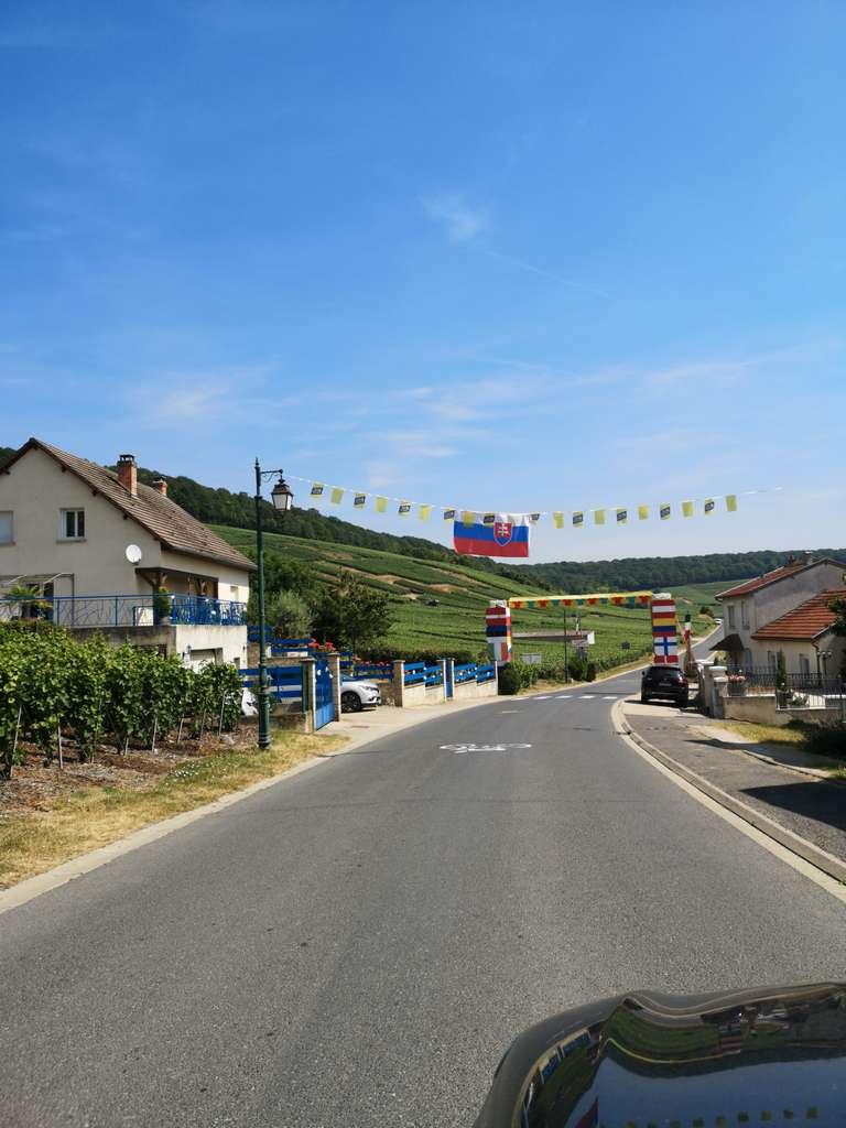 Fleury-la-Rivière - Tour de France løypen