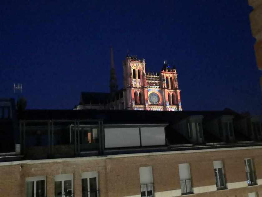 Utsikt fra hotellrommet Amiens