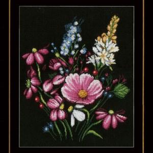 Lanarte Borduurpakket - Bloemenpracht