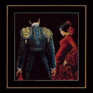 Lanarte Borduurpakket - Dansen en passie