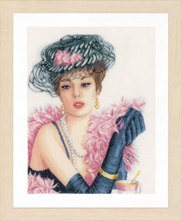 Lanarte Borduurpakket - Elegante Dame
