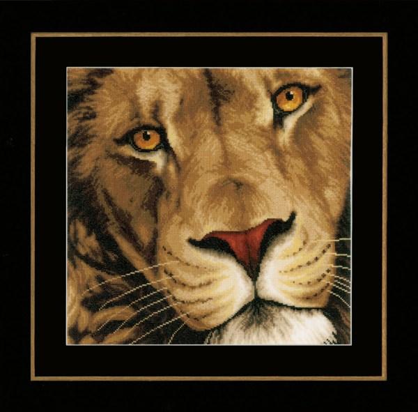 Lanarte Borduurpakket - Koning der dieren / Leeuw