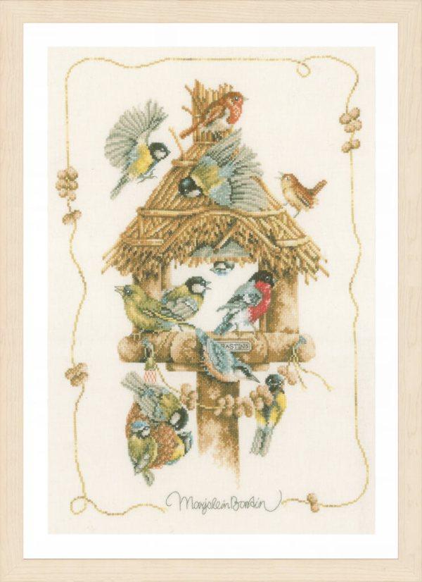 Lanarte Borduurpakket - Vogelhuisje