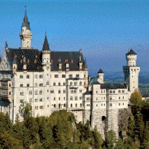 MyHobby borduurpakket - Schwangau Duitsland