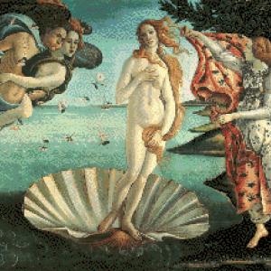 MyHobby borduurpakket - geboorte van Venus