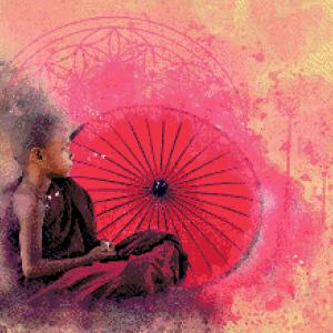MyHobby borduurpakket - meditatie jongen