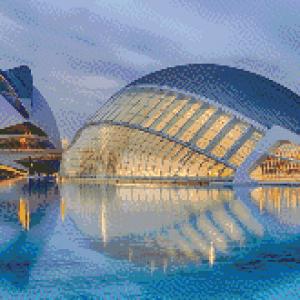 MyHobby borduurpakket - The Modern Art Valencia