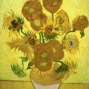 MyHobby borduurpakket - zonnebloemen