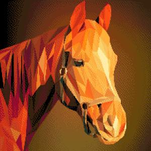 MyHobby borduurpakket - tekening paard