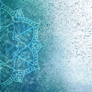 MyHobby borduurpakket - blauwe mandala