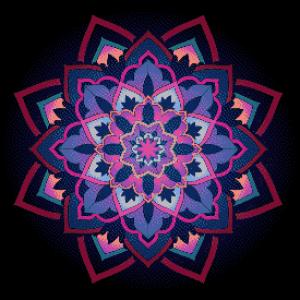 MyHobby borduurpakket - flower mandala