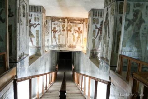 Египетска гробница в долината на царете_