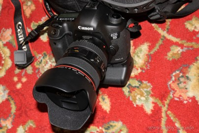 Canon 5D Mark III with Canon 24-105 F4