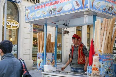 Майстор на сладолед - Истанбул, Турция