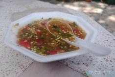 Лютив сос към риба - Банкок