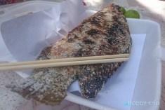 Печена риба в сол на скара - Банкок