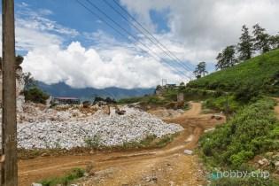 Пейзаж в планината САПА, Виетнам