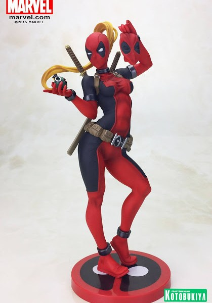 Kotobukiya Marvel Comics Lady Deadpool Bishoujo Statue