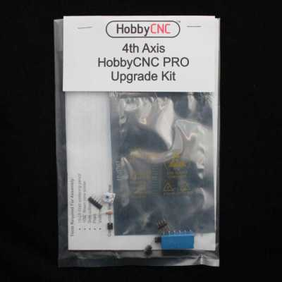 HobbyCNC PRO 4th Axis Upgrade Kit. DIY CNC Router, DIY CNC Mill, DIY CNC, DIY Robotics, Arduino