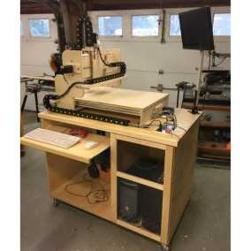 HobbyCNC Customer Build - completed with rolling table
