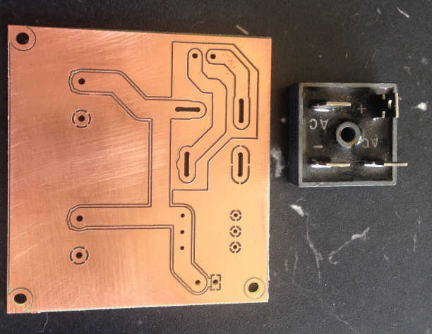 Mill slots in a PC board with KiCAD and FlatCAM - HobbyCNC