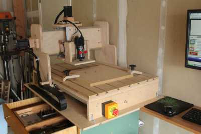HobbyCNC DIY CNC Customer Build - Dennis B_2