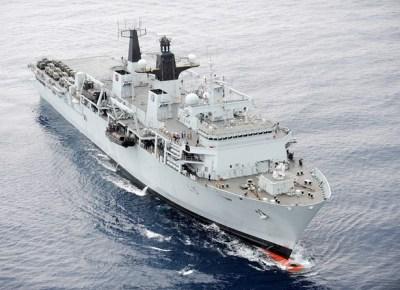 An assault ship
