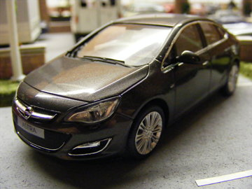 Opel Astra J Sedan Model Cars HobbyDB