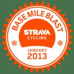 uitdaging van strava base-mile-blast-ride-2013-v1