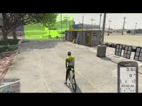 GTA met de smart trainer als controler