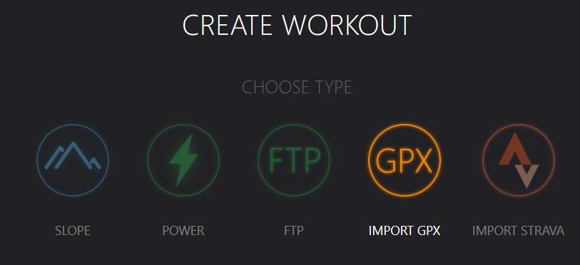 workouts maken in de Tacx Training App