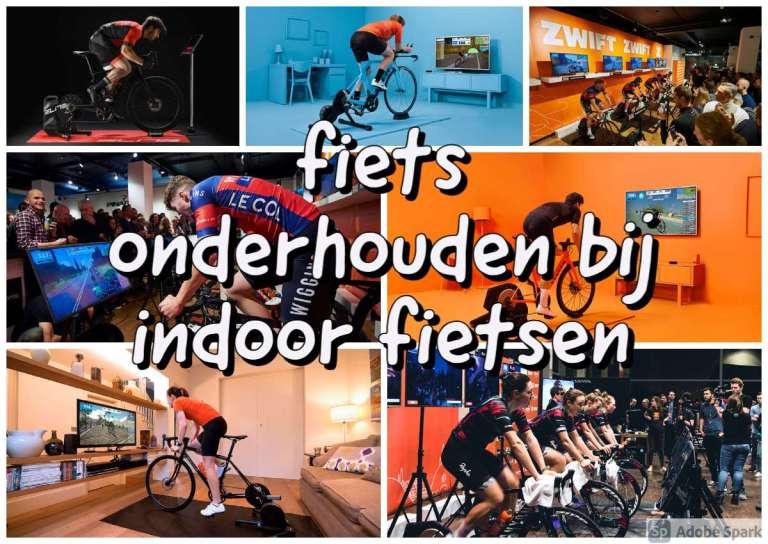 fietsonderhouden bij indoor fietsen