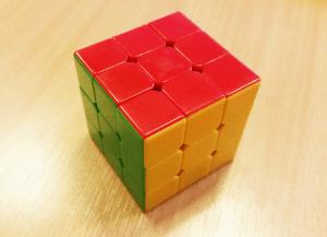 image of stickerless speedcube
