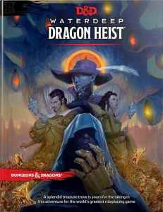 image of waterdeep dragon heist book cover