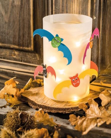 Fledermaus-Halloweenlicht