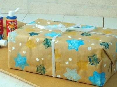 Geschenkpapier selbst bedrucken