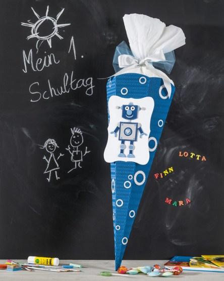 Roboter-Schultüte
