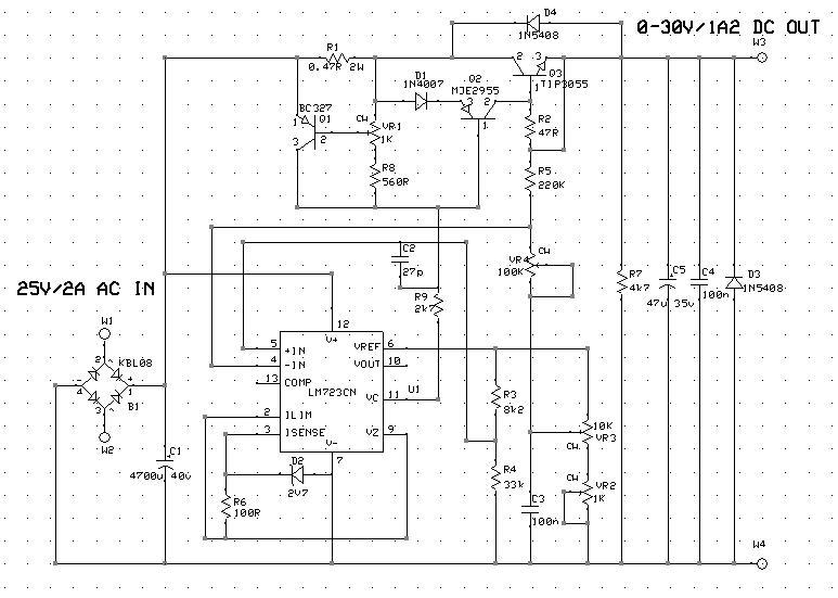 Bench 0-30V 0-1A2 PSU (Part 1): Linear Regulator PCB