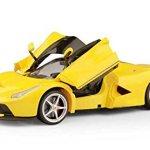 114-Scale-Ferrari-La-Ferrari-LaFerrari-Radio-Remote-Control-Model-Car-RC-RTR-Open-Doors-Yellow-by-FMTStore-0