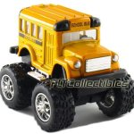 12-pcs-in-Box-4-Monster-Wheel-Short-School-Bus-Pull-Back-Action-Yellow-0-0