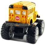 12-pcs-in-Box-4-Monster-Wheel-Short-School-Bus-Pull-Back-Action-Yellow-0-1